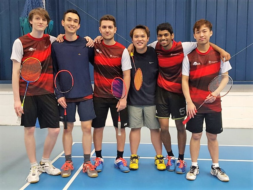 City Badminton  Men's 1 (Cup)