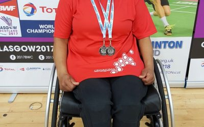 Sharon Barnes – GB Para-Badminton player reports on her Achievement – Scottish 4 Nations Para-Badminton Championships 2017