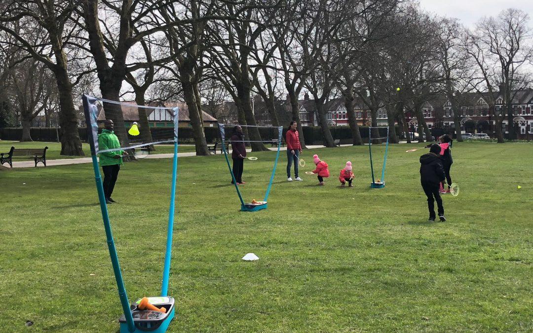 Coco-Cola ParkLives Badminton in Central Park – Newham