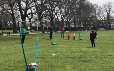 Coco-Cola ParkLives Badminton in Central Park – Newham