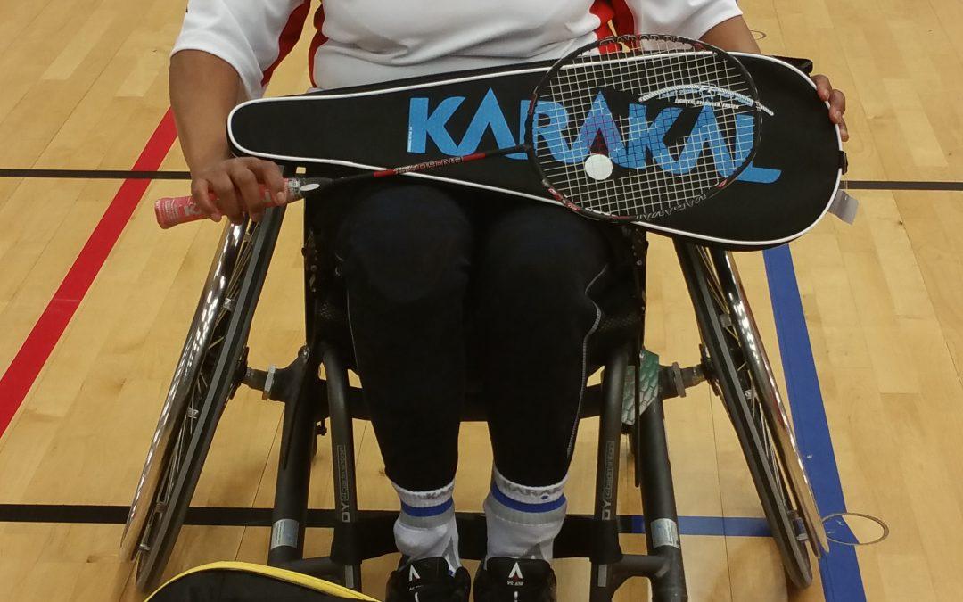 GB Para-Badminton Player Joins Black Arrows Coaching Team