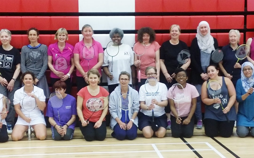 Black Arrows Women's Only Badminton Tournament