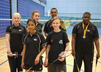 Black Arrows & Sobell Badminton team entry