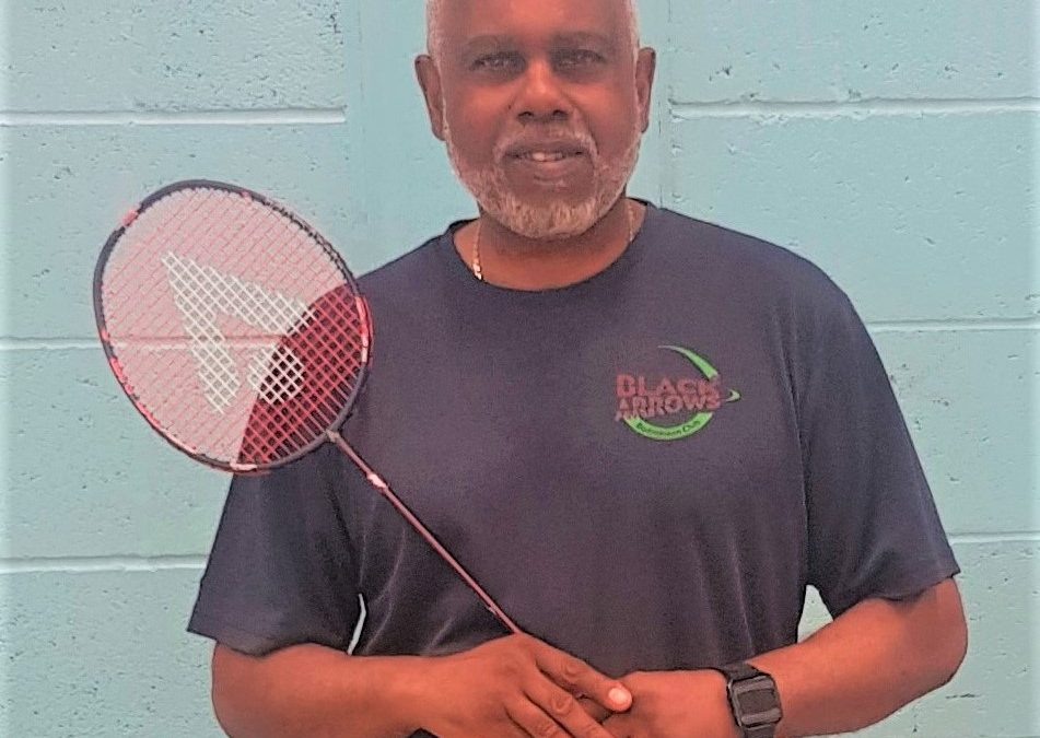 Badminton pioneer Henry Gaspard 'humbled' by his British Empire Medal