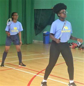 (L-R) Beauty Odeyemi & Jessica Amponsah