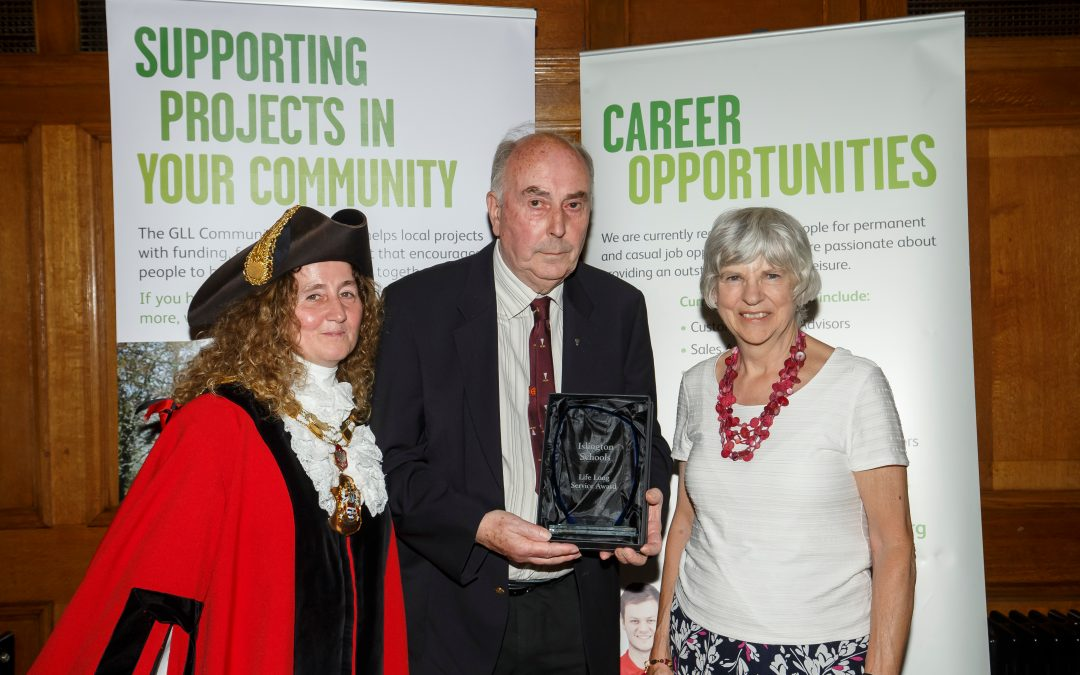 David Heather – Awarded Sport Islington – Long Service Award