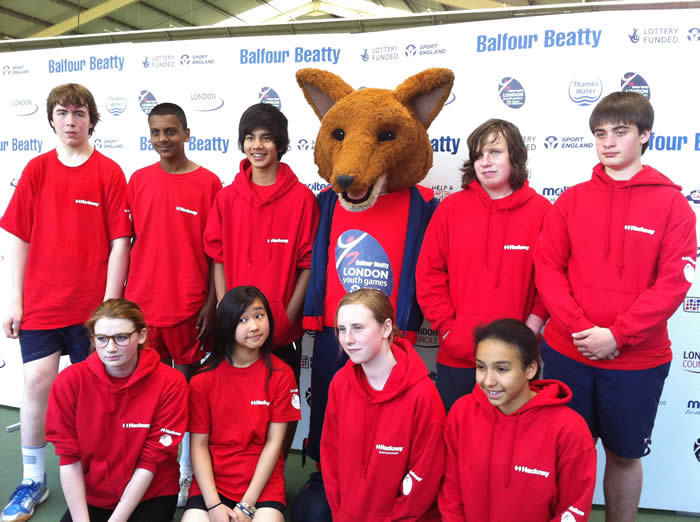 London Youth Games 2011 Group photo