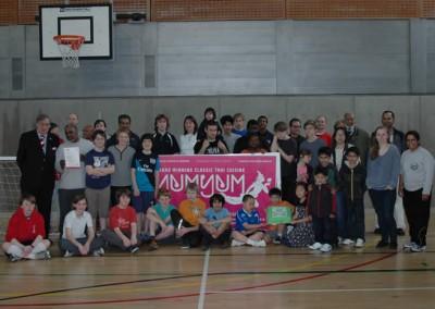 Group shot of Our Club Participants