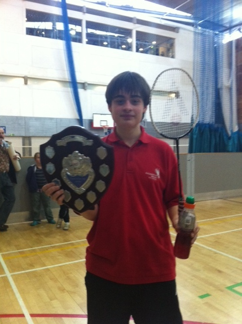 Player of the Year 2011 Sam Mathias-Stanley