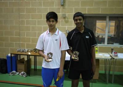 Rishi & Shariff U-15's Winners