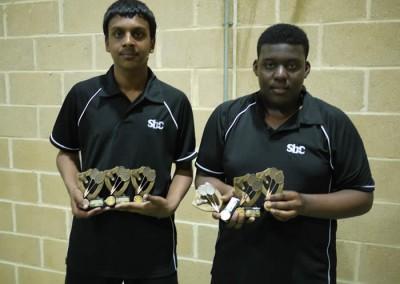 Shariff & D'Reece U-17's Winners
